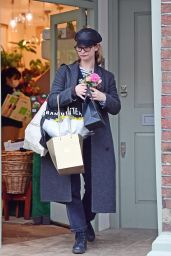Lily James Cute Style - Shopping in London 03/18/2020