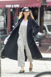 Lily James Street Style - London 05/04/2020