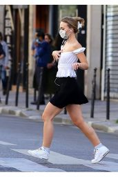 Lily-Rose Depp - Out in Paris 05/20/2020