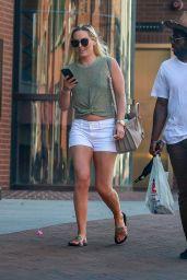 Lindsey Vonn Leggy in Shorts 05/27/2020