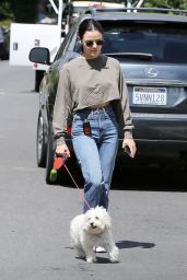 Lucy Hale in Casual Outfit 05/19/2020