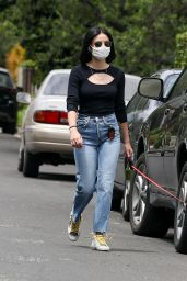Lucy Hale in Casual Outfit - Los Angeles 05/12/2020