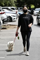 Lucy Hale in Street Outfit 05/29/2020