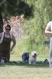 Lucy Hale in the Park in Los Angeles 05/16/2020