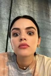 Lucy Hale - Live Stream 05/07/2020