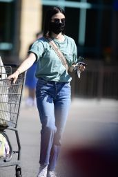 Lucy Hale - Shopping at Gelsons in LA 05/24/2020