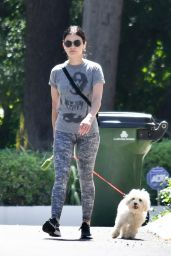 Lucy Hale Street Outfit 05/25/2020