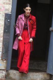 "Lucy Hale Style - ""Katy Keene"" Set in Queens"