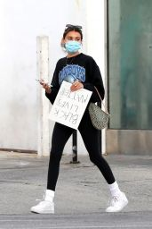 Madison Beer - Protesting in West Hollywood 05/30/2020
