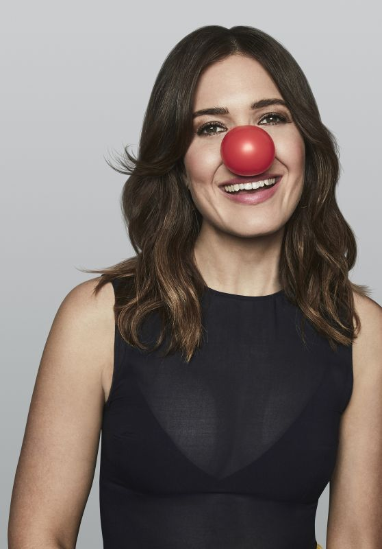 Mandy Moore - NBC Red Nose Day Promo 2020