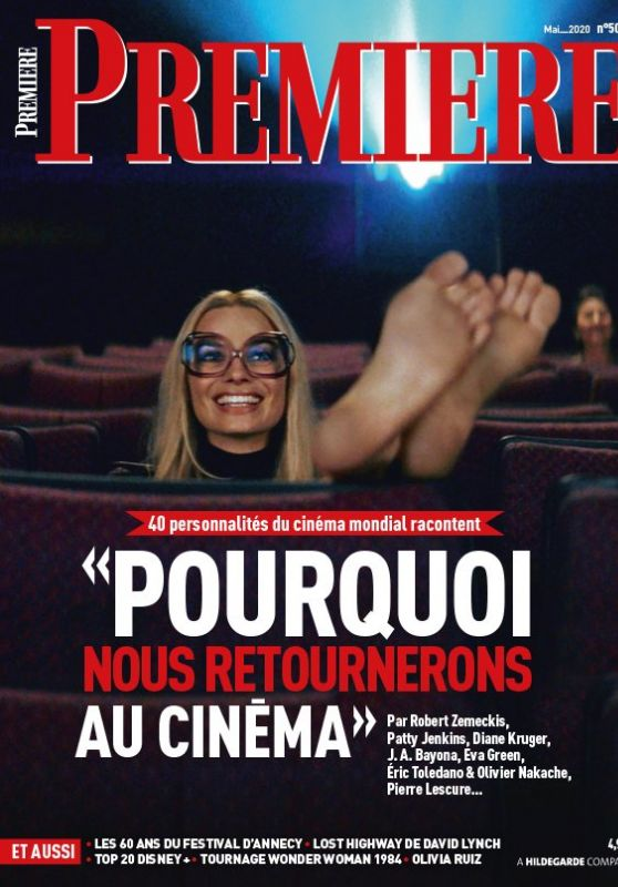 Margot Robbie - Premiere Magazine France May 2020 Cover