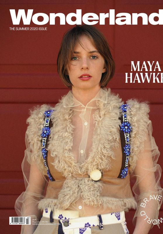 Maya Hawke - Wonderland Magazine Summer 2020 Cover