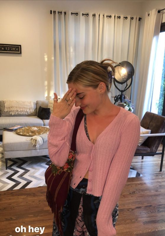 Meg Donnelly - Personal Photos and Videos 05/27/2020