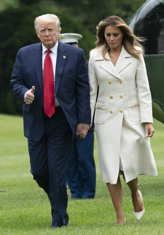 Melania Trump Outfit 05/25/2020