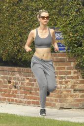 Mia Goth - Jogging in Pasadena 05/12/2020