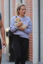 Molly Mae Hague With Boyfriend Tommy Fury Out in Manchester 05/29/2020