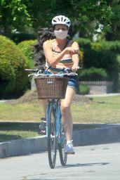 Molly Shannon - Bike Ride in Santa Monica 05/17/2020