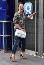 Myleene Klass - Arrives at the Global Studios in London 05/14/2020