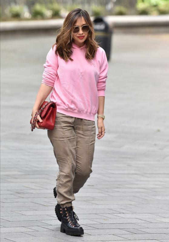 Myleene Klass in Casual Outfit - London 05/13/2020