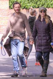 Natalie Dormer With Her Boyfriend David Oakes - Richmond Park in London 05/14/2020