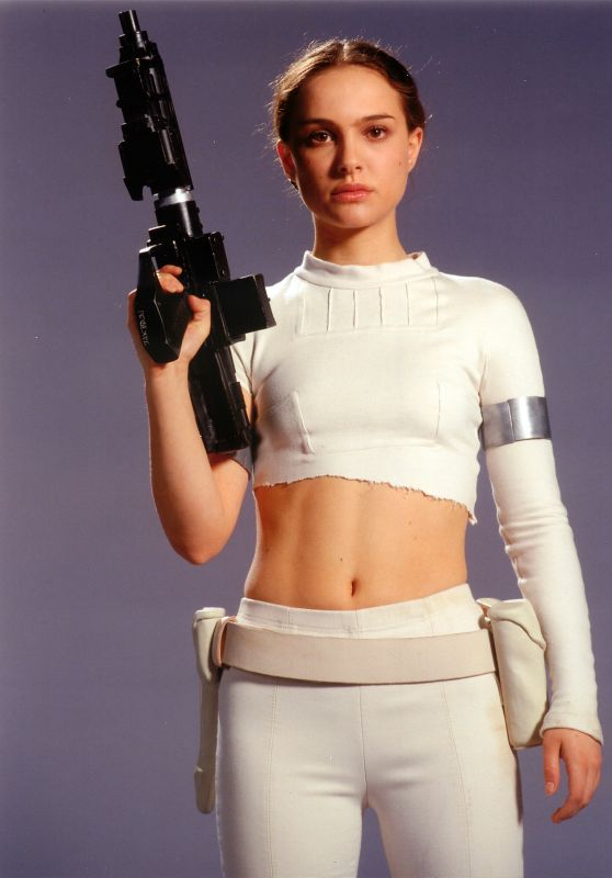 "Natalie Portman - ""Star Wars: Episode II – Attack of the Clones"" Promoshoot"