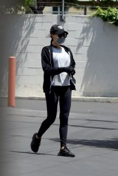 Naya Rivera in Tights - Los Angeles 05/08/2020