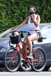 Nicole Murphy - Bike Ride in LA 05/26/2020