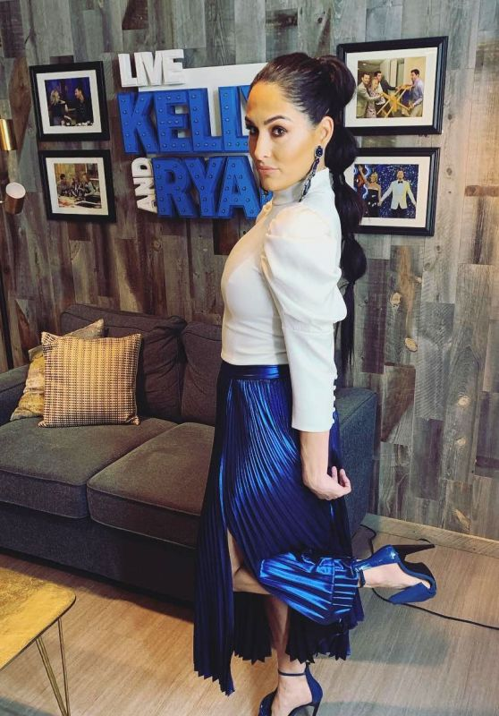 Nikki Bella Outfit 01/19/2019