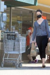 Odette Anabelle - Shopping at Wholes Foods in LA 05/11/2020
