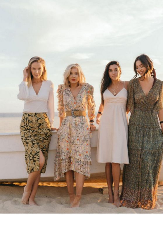 Olivia Jordan, Nadia Mejia, Mafer Neyra and Laura Jade Stone - Modeliste Magazine 2020