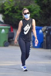 Olivia Wilde in Sporty Outfit - Hike in Los Angeles 05/09/2020
