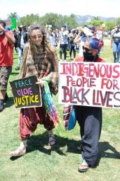 Paris Jackson at Black Lives Matter Rally in LA 05/30/2020