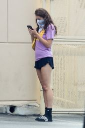 Poppy Drayton Leggy in Shorts 05/11/2020