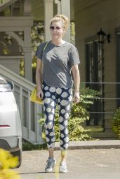Rebecca Romijn in Casual Outfit - Calabasas 05/08/2020