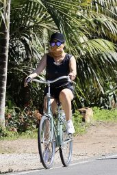 Reese Witherspoon - Riding a Bike in Malibu 05/02/2020