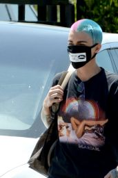 Ruby Rose - With a Colorful New Hairstyle in Los Angeles 05/01/2020
