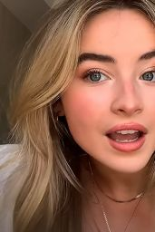 Sabrina Carpenter - Social Media Pics  and Video 05/24/2020