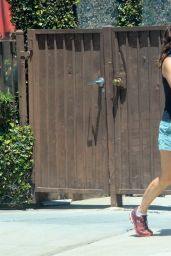 Sarah Shahi in Shorts - West Hollywood 05/25/2020