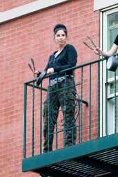 Sarah Silverman - Emerged From Her NYC Apartment 05/28/2020
