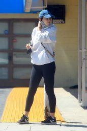 Serinda Swan in Spandex - Los Angeles 05/02/2020