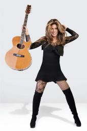 Shania Twain - Miami Living Magazine April/May 2020 Issue