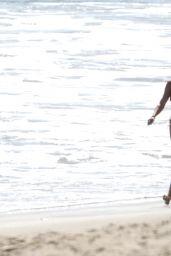 Sofia Richie in a Bikini - Beach in Malibu 05/01/2020