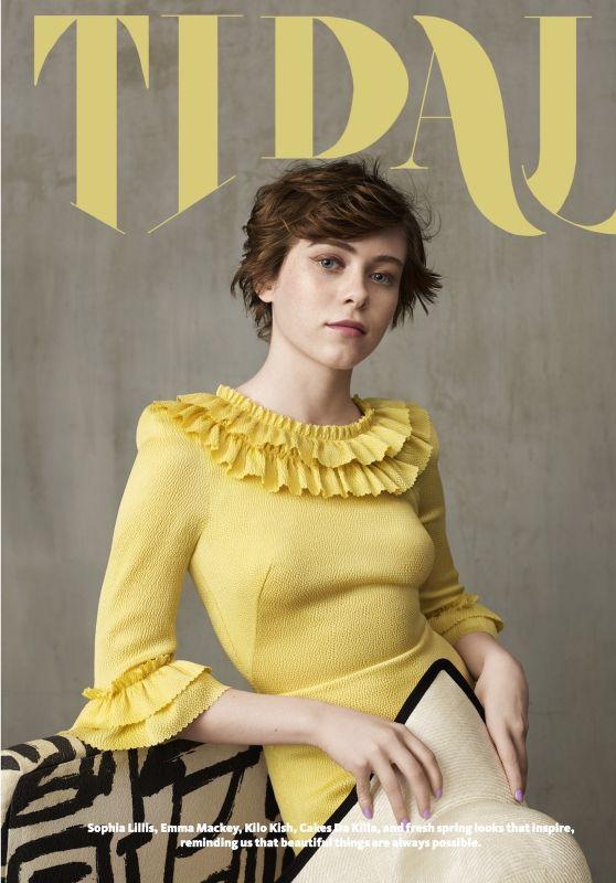 Sophia Lillis - Tidal Magazine 2020
