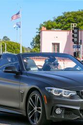 Sophie Turner and Joe Jonas - Driving in Pacific Palisades 05/19/2020
