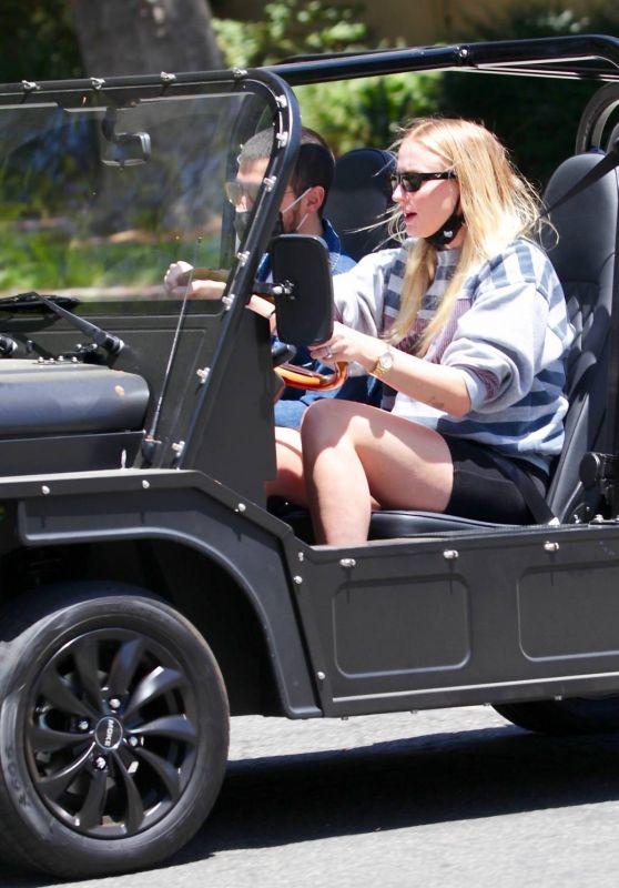 Sophie Turner - Drive in LA 05/23/2020