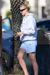 Sophie Turner - Walking on the Beach in Santa Barbara 05/25/2020
