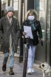 Vanessa Paradis and Corinne Paradis - Out in Paris 05/14/2020