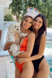 Victoria Justice and Madison Reed - Social Media Pics 05/29/2020