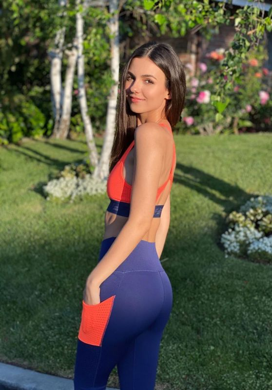 Victoria Justice in Workout Outfit 05/08/2020