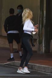 Victoria Silvstedt - Out in Monaco, April 2020